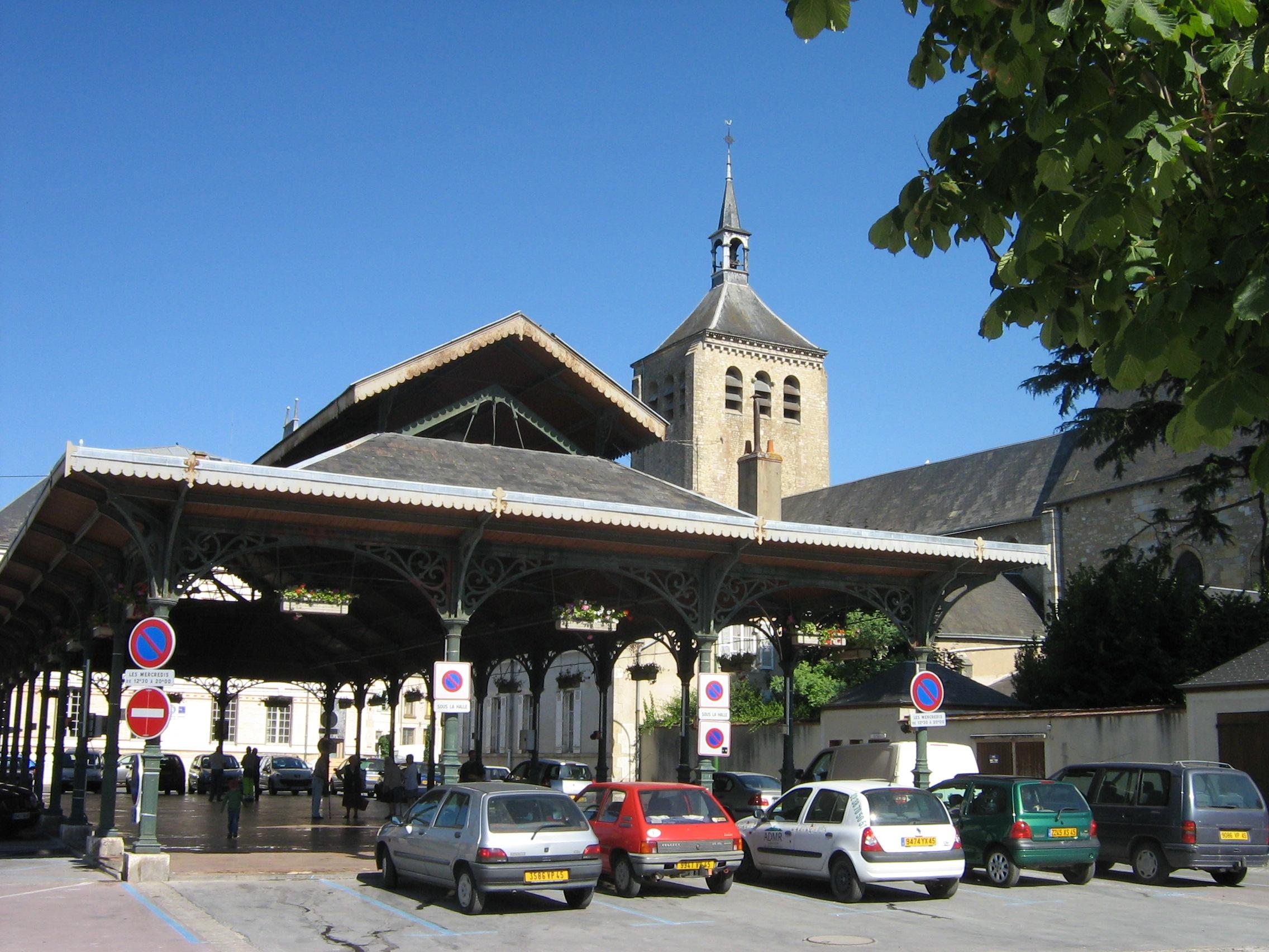 Le Plan De La Ville De Jargeau
