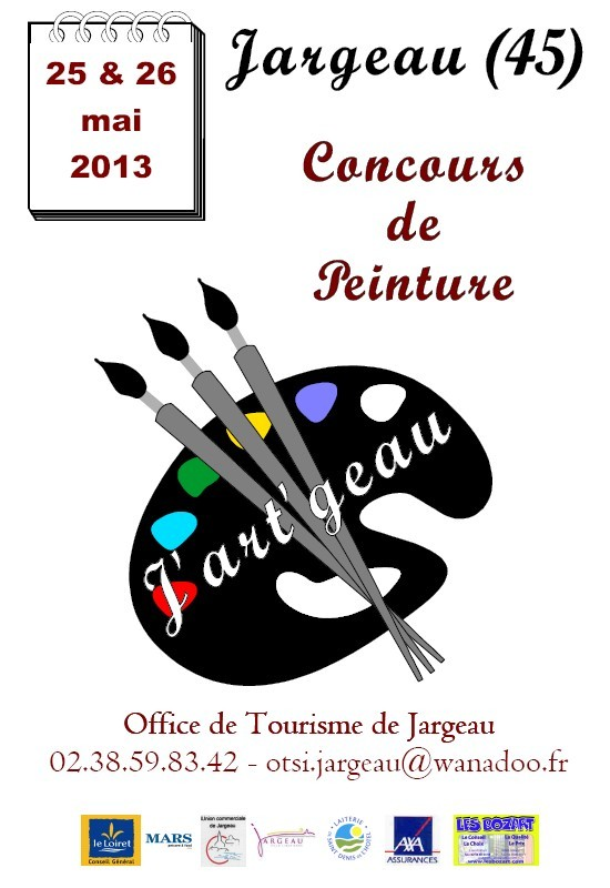 Concours de peinture Jargeau 2013